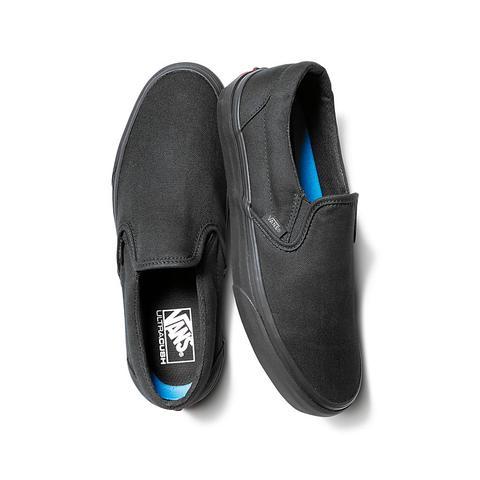 vans slip on leather uomo