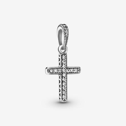 anello pandora con croce
