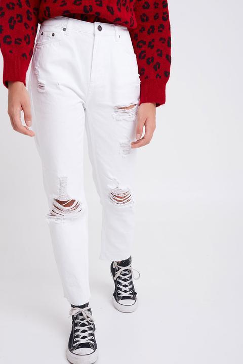 Jeans Boyfriend Con Rotos