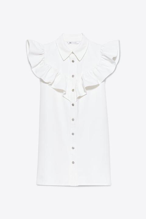Robe-chemise À Volants
