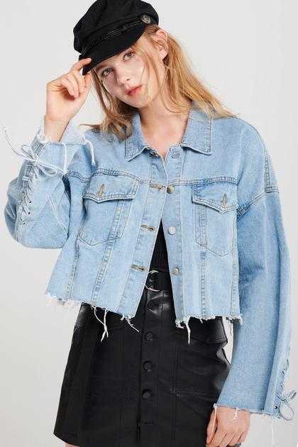 Alice Tattered Denim Jacket