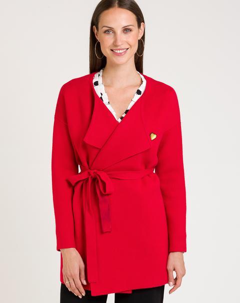Cárdigan Kimono Con Cinturón de Naf Naf en 21 Buttons