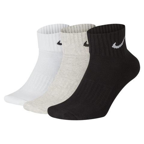 Nike Cushion Calcetines De Entrenamiento Hasta El Tobillo (3 Pares) - Multicolor