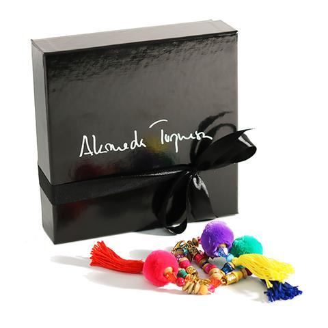 The Pom Pom To My Tassel – Colors (pack Three Bracelets)