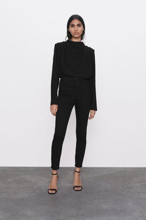 Jeans Zw Premium High Waist Revolve Black