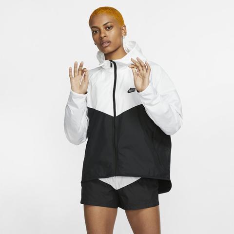 Nike Sportswear Windrunner Chaqueta - Mujer - Blanco de Nike en 21 Buttons
