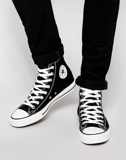 all star scarpe alte nere