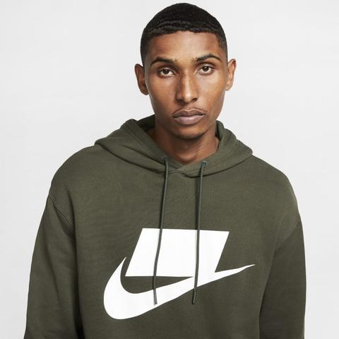 Más grande perturbación aves de corral  Nike Sportswear Nsw Sudadera Con Capucha De Tejido French Terry - Verde  from Nike on 21 Buttons