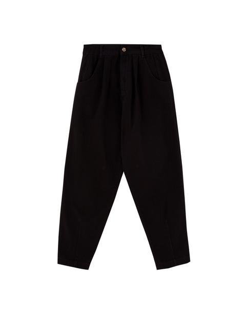 Jeans Slouchy Básicos Negros