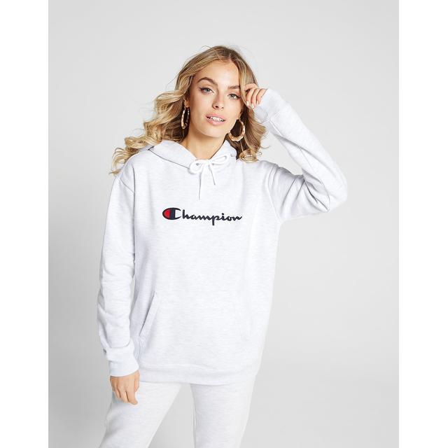 Champion Script Logo Boyfriend Hoodie