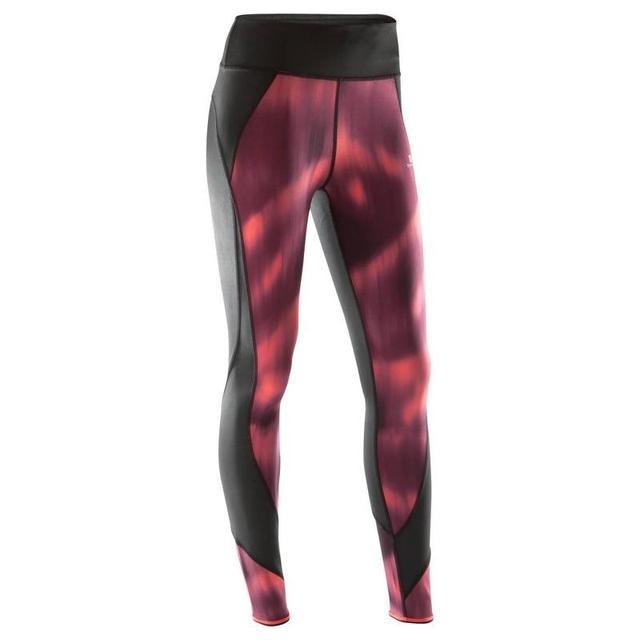 Leggings Reversible Yoga 920 Mujer Negro Burdeos Rosa Domyos From Decathlon On 21 Buttons