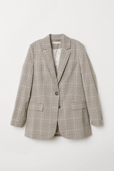 Americana De Corte Recto - Beis de H&M en 21 Buttons