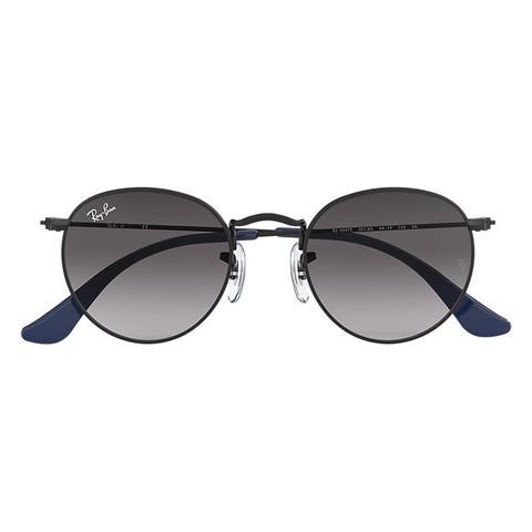 photos officielles 7cb71 6babd Round Metal Junior Unisex Sunglasses Verres: Gris, Monture: Noir from  Ray-Ban on 21 Buttons