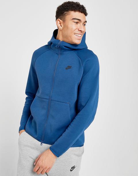 Nike Tech Fleece Windrunner Hoodie Men S Blue From Jd Sports On 21 Buttons