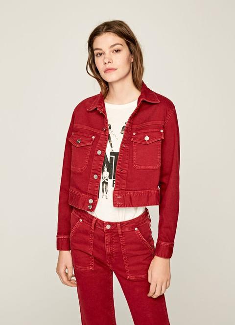 Cazadora Corta Tiffany de Pepe Jeans en 21 Buttons