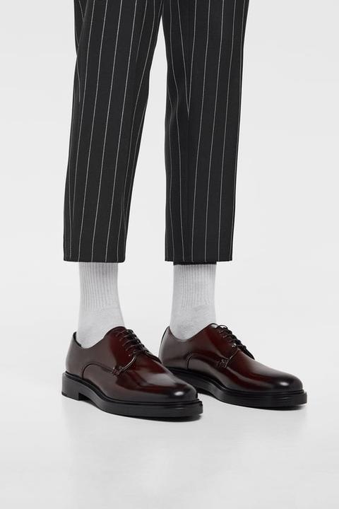 Zapato De Antic Piel En 21 Buttons Zara dCoeWBrx