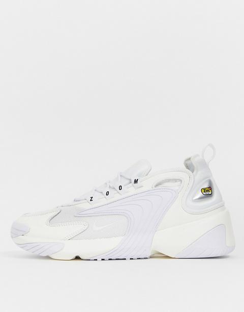 Zapatillas En Blanco Triple Zoom 2k De Nike de ASOS en 21 Buttons