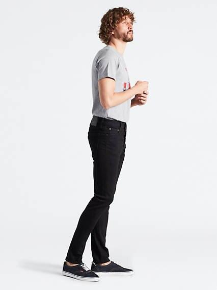 510™ Skinny Fit Jeans Advanced Stretch Negro / Stylo
