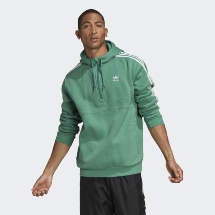 Sudadera Con Capucha 3 Bandas de Adidas en 21 Buttons