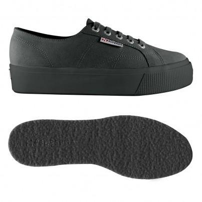 2730-sueu, 17130, Lady Shoes S00c660 F28 Grey Stone de Superga en 21 Buttons