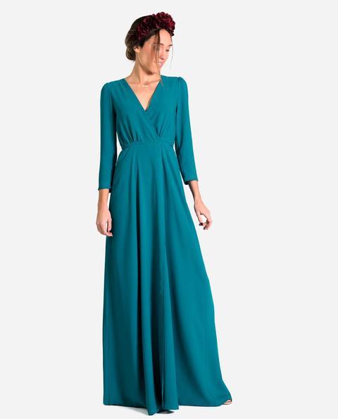 Vestido Eloise · Turquesa de THE-ARE en 21 Buttons