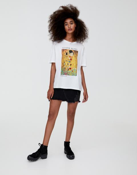 Camiseta Klimt Beso