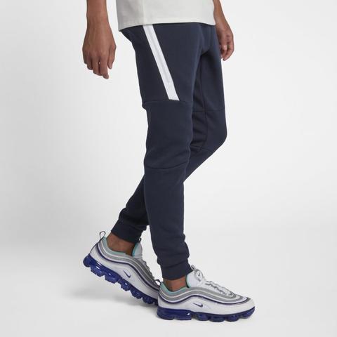 Nike Sportswear Tech Fleece Pantalón Deportivo - Hombre - Azul de Nike en 21 Buttons