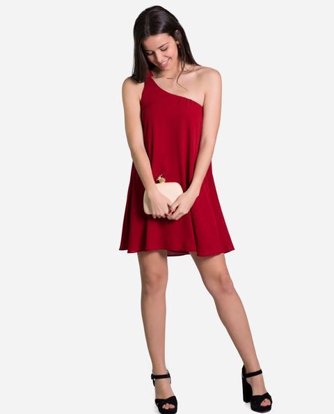 Mini Dress Chloé · Rojizo de THE-ARE en 21 Buttons