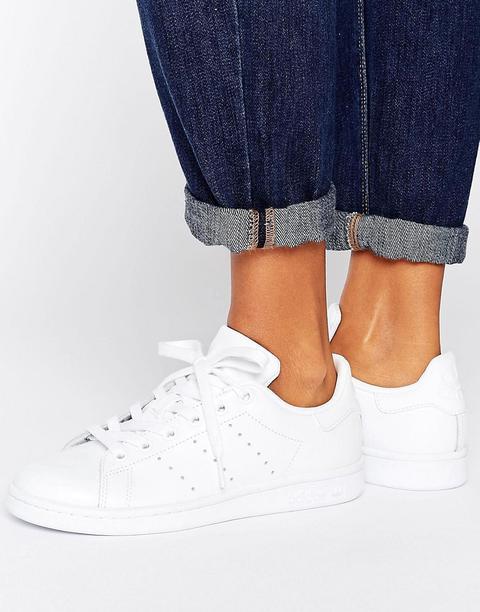 Adidas Originals - Stan Smith - Scarpe Da Ginnastica Bianche - Bianco de ASOS en 21 Buttons