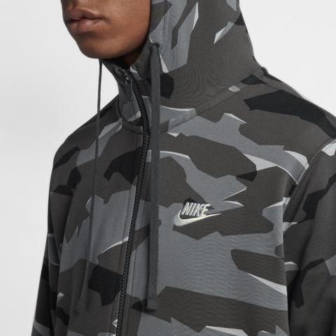 selección asombrosa calidad de marca cómo llegar Nike Sportswear Club Fleece Sudadera Con Capucha De Camuflaje Con ...