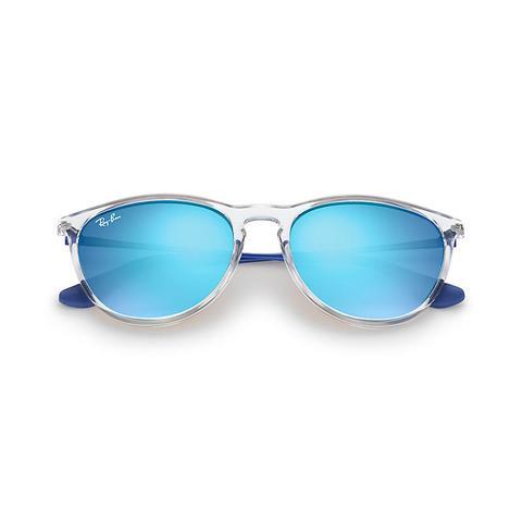 Izzy Unisex Sunglasses Lentes: Azul, Montura: Azul