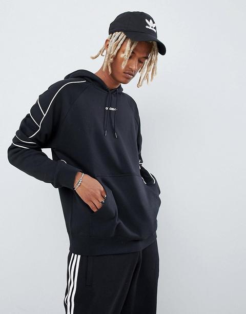 Adidas Originals Eqt Outline Hoodie Noir Dh5216 Noir from ASOS on 21 Buttons