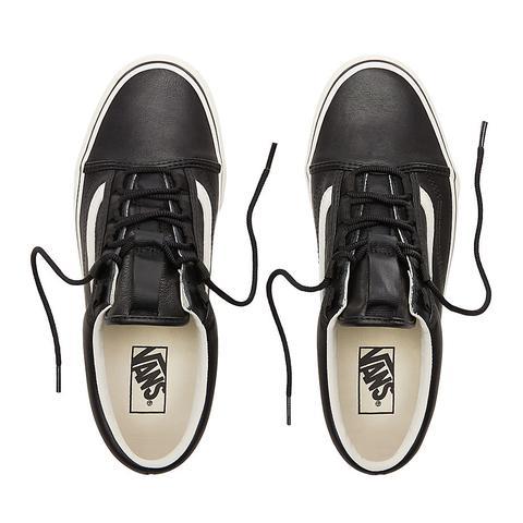 Old Skool Ghillie Sneaker In Black Marshmallow