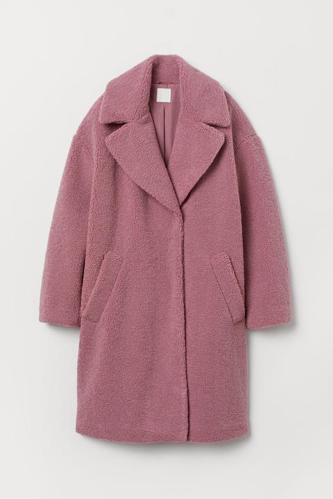 Manteau En Peluche - Rose