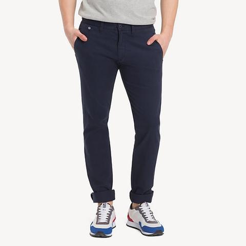 Pantaloni Chino Slim Fit de Tommy Hilfiger en 21 Buttons