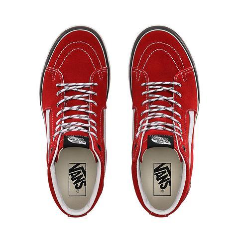 Vans Zapatillas Sk8-hi Stacked (chili Pepper/true White) Mujer Rojo