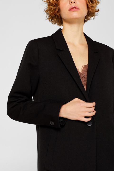 designer fashion 03bc5 10365 Blazer-mantel Mit Piqué-struktur from Esprit on 21 Buttons
