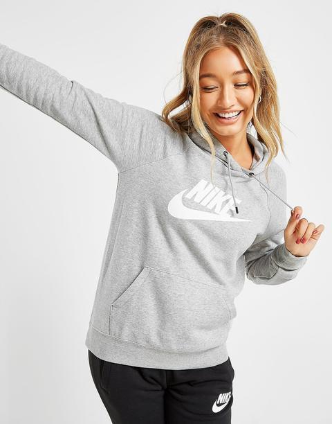Nike Sudadera Con Capucha Essential Logo, Gris de Jd Sports en 21 Buttons