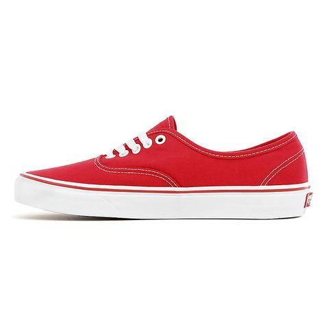 Vans Zapatillas Authentic (rojo) Mujer Rojo