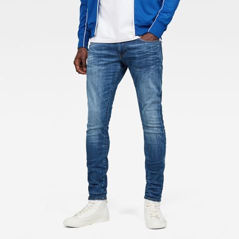 3301 Deconstructed Skinny Jeans de G-STAR en 21 Buttons