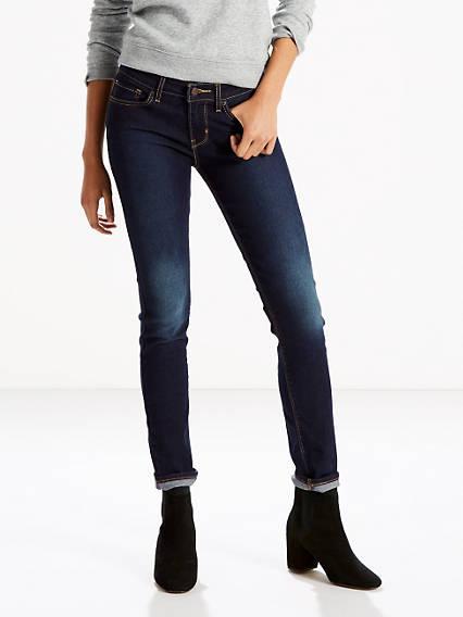 711™ Skinny Jeans Lavado Oscuro / Indigo Ridge de Levi's en 21 Buttons