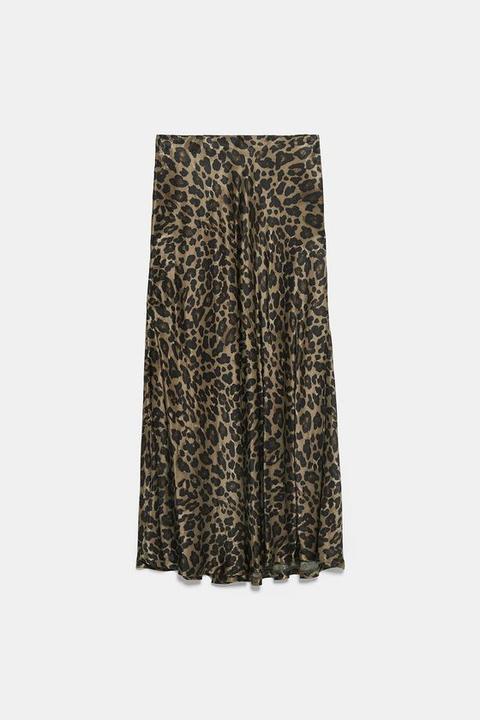 Falda Estampado Animal