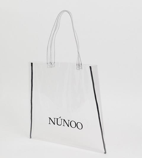 Bolso Tote Grande Transparente De Nunoo de ASOS en 21 Buttons