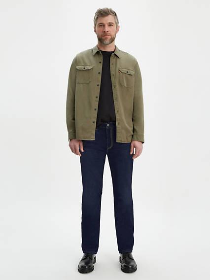 514™ Straight Jeans Negro / Chain Rinse de Levi's en 21 Buttons