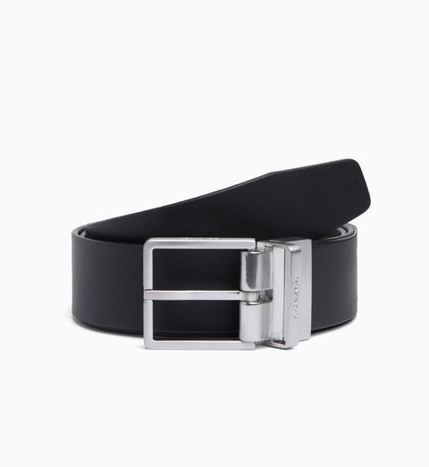 Cinturón Reversible De Cuero de Calvin Klein en 21 Buttons