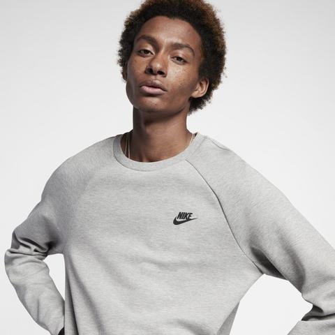promoción especial mejor calidad autentica Nike Sportswear Tech Fleece Sudadera De Manga Larga - Hombre - Gris from  Nike on 21 Buttons