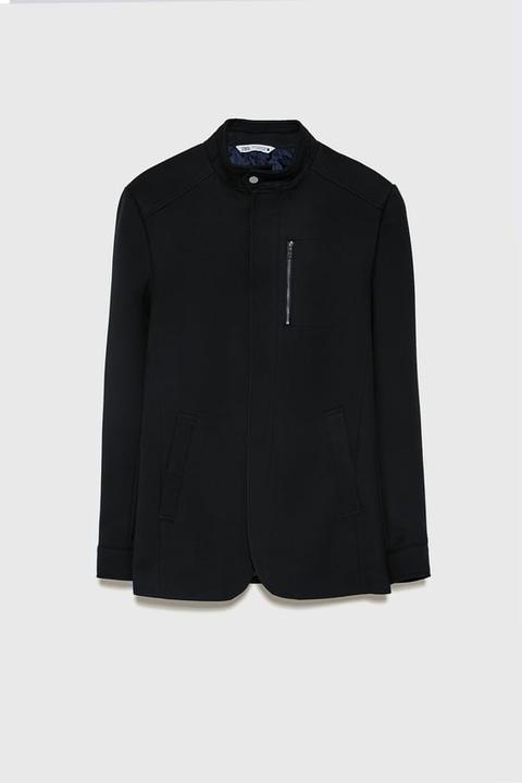 Blazer Acolchada de Zara en 21 Buttons
