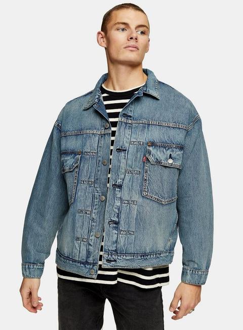 Levi's® Blue Denim Trucker Jacket