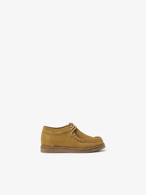 Zapato Piel de Zara en 21 Buttons