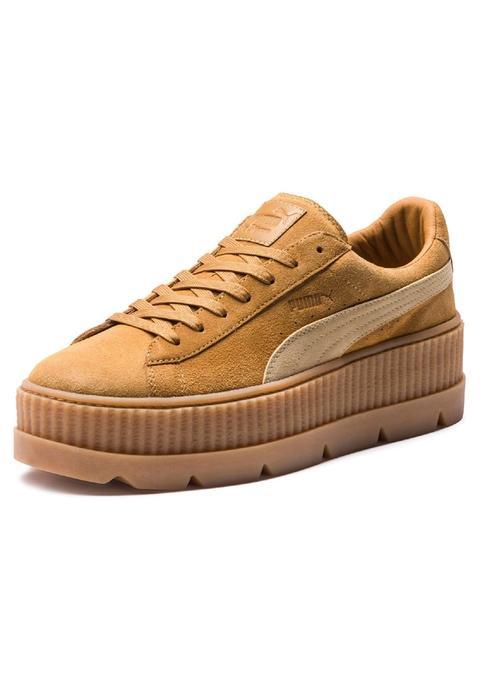 best service c1c64 c0da6 Puma Suede Platform Trace Sneakers Basse Peach Beige/pearl ...